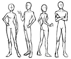 Manga Basic Poses Standing And Sitting Letraset Blog Creative
