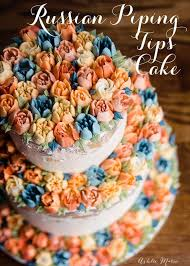Russian Piping Tips Tutorial And Wedding Cake Ashlee Marie Real