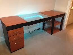 Infinity Mirror Computer Desk Design Is A Trippy Adventure