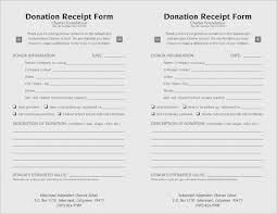 donor tax receipt template useful 15 elegant charitable donation