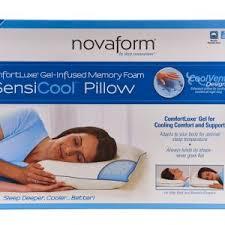 novaform pillow. nova form sensi cool pillow novaform u