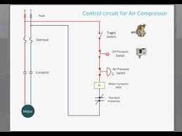 compressor control wiring diagram compressor wiring diagrams control circuit for air compressor