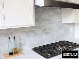 architecture backsplash ideas inspiring carrara marble subway tile intended for decor 19 free standing electric fireplaces
