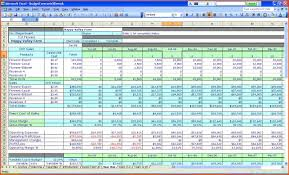 007 Microsoft Office Excel Budget Templates Free Heet