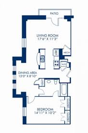 one bedroom apartments in dc area. blueprint of 1.1h floor plan, 1 bedroom and bathroom at camden roosevelt apartments one in dc area