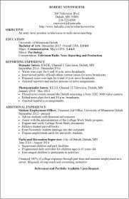 Cool News Anchor Resume Pictures Inspiration Documentation