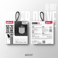 [5] MIXZA IU 007 MFI For iPhone OTG <b>USB Flash Drives 128GB</b> ...