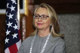 hillary clinton no makeup photo secretary of state laughs off ments on her looks photos huffpost
