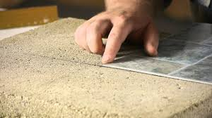 How To Lay Vinyl Tiles In Bathroom How To Lay Stick Down Vinyl Tiles On Concrete Floors Flooring