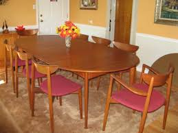 Mid Century Modern Furniture Dining Room Chairs Tennsat Danish - Best dining room chairs