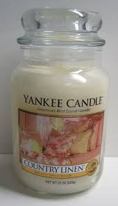 Yankee Candle Country Kitchen Amazoncom Yankee Candle Country Linen Large Jar Candle 22 Oz