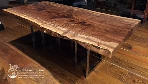 wood slab dining table beautiful: attractive modern farm dining table  live edge wood slab dining tables