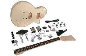 saga lc 10 gibson les paul guitar kit