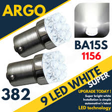 Details About 2x Ford Focus Mk1 16 382 P21w 9 Led Xenon Reverse Bulb White Light Upgrade 343