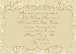 golden wedding anniversary invitation templates free cool 25th anniversary invitation templates free