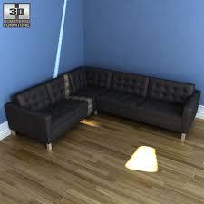 corner sofas ikea. Wonderful Sofas IKEA KARLSTAD Corner Sofa 3d Model  In Sofas Ikea S