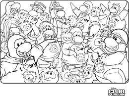 Small Picture Saraapril in Club Penguin I Heart my Puffle Coloring Page