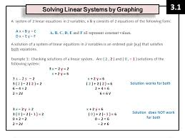 2 a system of 2 linear equations