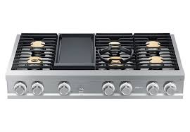 dacor range top. Interesting Top Dacor Modernist DTT48M976LS  Stainless Steel Front View  Throughout Range Top