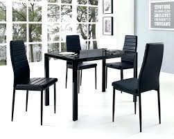 kitchen table with 4 chairs glass dining table and 4 chairs yellow kitchen design ideas
