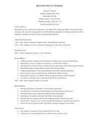 Free Professional Resume Templates Microsoft Word 2007 Resume Cv