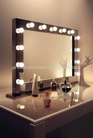 Vanity Mirror With Lights Around It Car Tuning