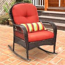 outdoor wicker rocking chair outdoor wicker rocking chairs with cushions
