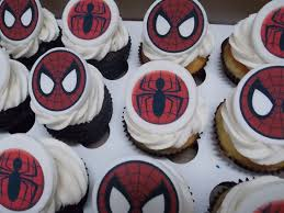 Spiderman Edible Photo Toppers Hey Cupcake