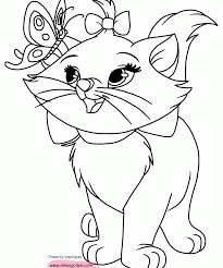 Aristocats Dinsey Coloring Pages Print Coloring