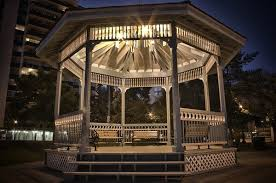 Outdoor Gazebo Lighting Simple Perfect Outdoor Outdoor Gazebo Throughout Gazebo Lighting A