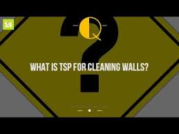 what is tsp for cleaning walls