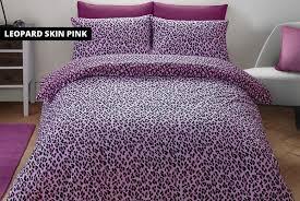 animal print duvet cover set