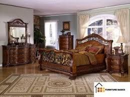 King Bedroom Set Marble Tops Impressive Sleigh Bed Furniture Queen .