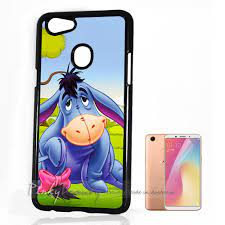 For Oppo A73 ) Back Case Cover P11600 Cartoon Donkey