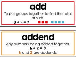 vocab cards with pictures first grade common core math vocabulary cards by first grade fanatics