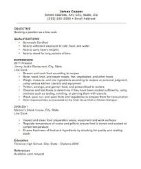 Cook Skills Resume Fresh Prep Cook And Line Cook Resume Samples Stunning Prep Cook Resume