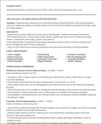 Medical Customer Service Resume
