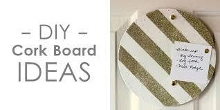 DIY cork board craft ideas - plus many others!