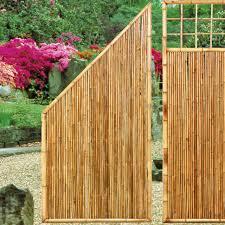 Sichtschutzwand Bambus Zen Abschlusselement Sichtschutz Welt De