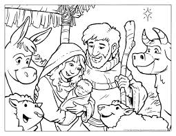 Adult Nativity Color Page Nativity Coloring Pages With Scripture