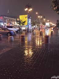 بالصور.. سقوط أمطار غزيرة على العاصمة الرياض - ارشيف 2017 - صحيفة الوئام  الالكترونية
