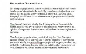 character sketch example essays character sketch essay write my research paper from