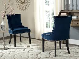 blue velvet dining chairs. Navy Cushioned Dining Chairs Blue Velvet Room E