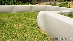 glass fibre reinforced concrete sculpted retaining wall sydney eastern suburbs australia