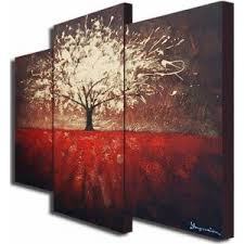 three piece canvas wall art sets oversized offset canvas tree mysterious painting metal chrome maroon dark on oversized canvas wall art sets with wall art amazing gallery of 3 piece canvas wall art sets 3 piece