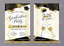 Graduation Program Invitation Designs Graduation Party Class Of 2018 Vertical Invitation Card With