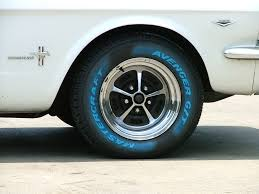 14x7s And 67 Coupe Best Tire Size Mustang Forums At