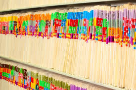 Patient Chart Tabs Color Coding File Folder Systems Fsi Label
