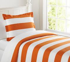 orange rugby stripe duvet cover sweetgalas