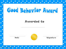 Good-Behavior-Printable-Certificate-Pdf